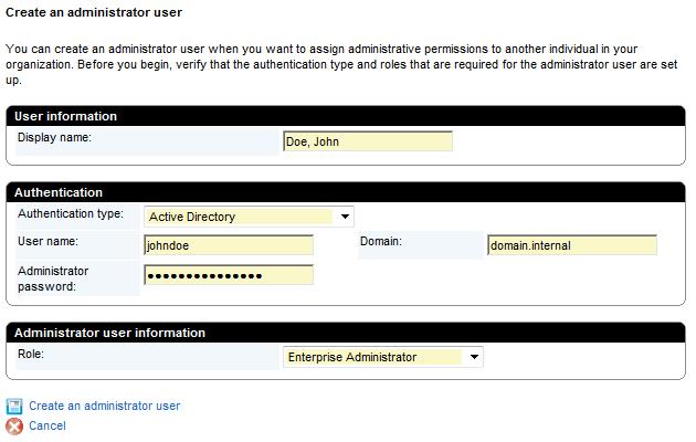 BES Admin User 2